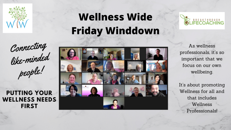 Winddown Fridays Our Online Network For Health And Wellness Professionals